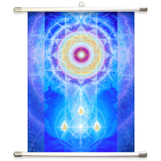 LifeParticle Wall Scroll Banner Large39 x 52