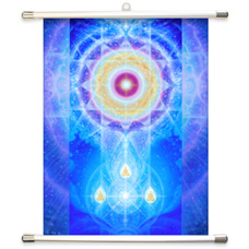 LifeParticle Wall Scroll Banner (Small-14.5