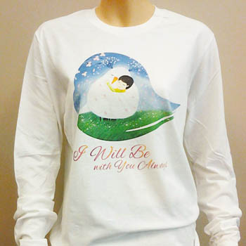 Bird of the Soul Long Sleeve Shirt (Blue)