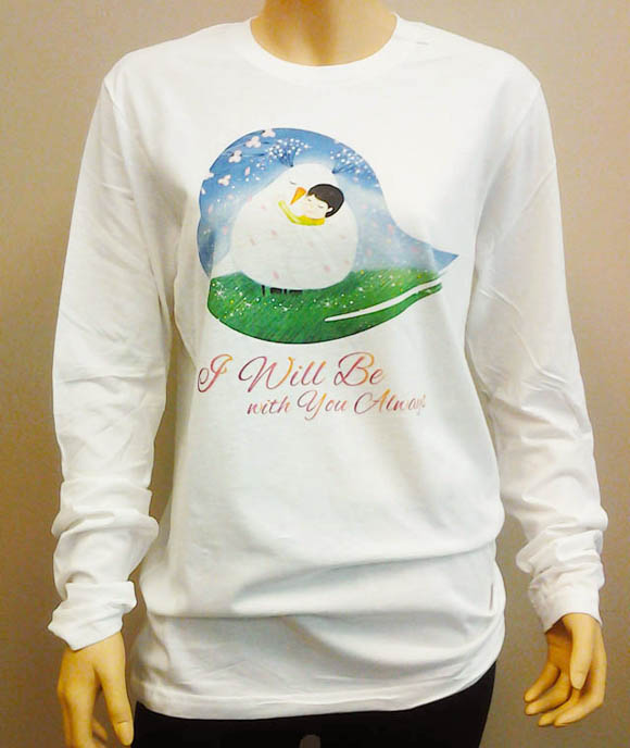 Bird of the Soul Long Sleeve Shirt Blue
