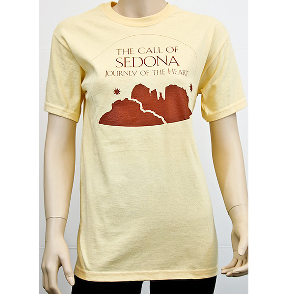 Call of Sedona Tshirt Yellow