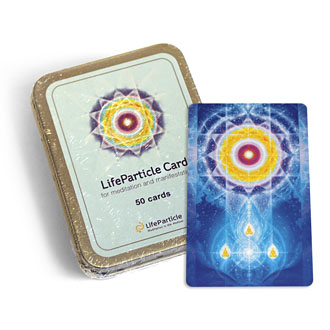 LifeParticle Energy Meditation Card 50 Pack