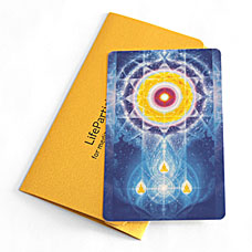 LifeParticle Energy Meditation Card