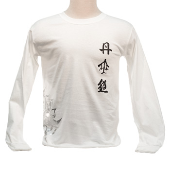 DahnMuDo Shirt Long Sleeve - White (Unisex)