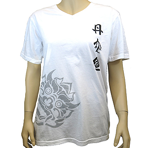 DahnMuDo T-Shirt (V-Neck) White
