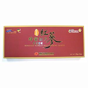 Honeyed Red Ginseng Slices
