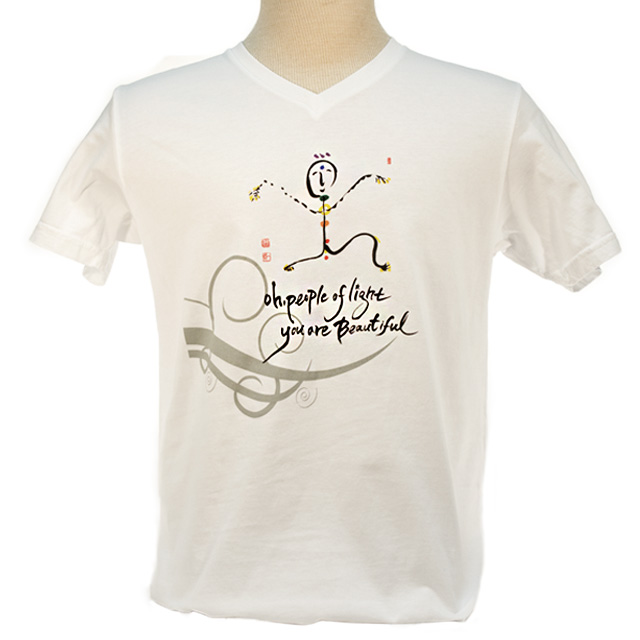 Ilchi Calligraphy Tshirt Chakra Light Being