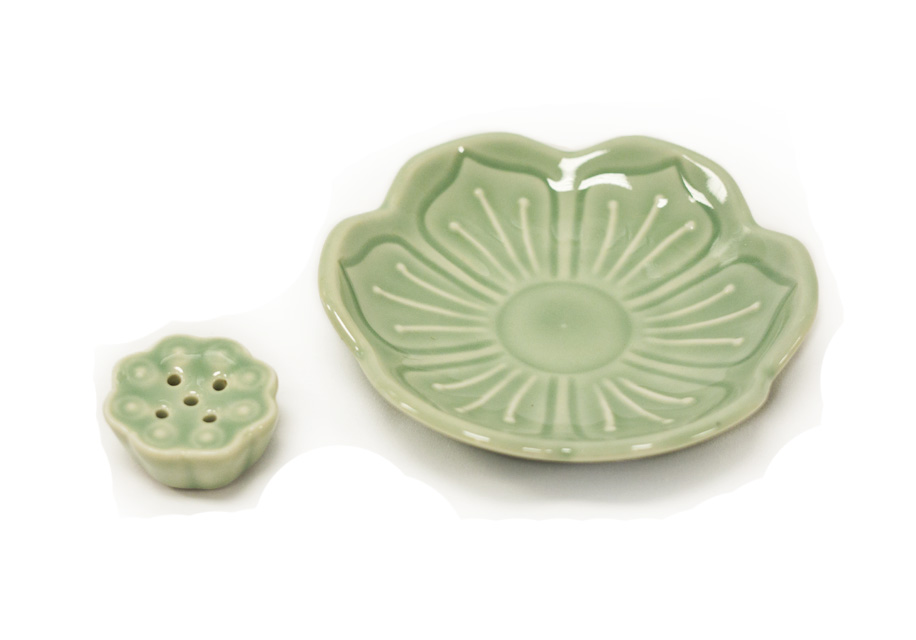 Lotus Leaf Incense Holder 5 holes