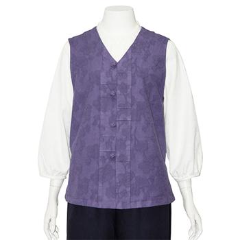 Pintuck Violet Vest (Women's)