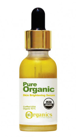 Pure Organic Skin Brightening Serum