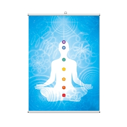 Solar Body Chakra Banner Wall Scroll