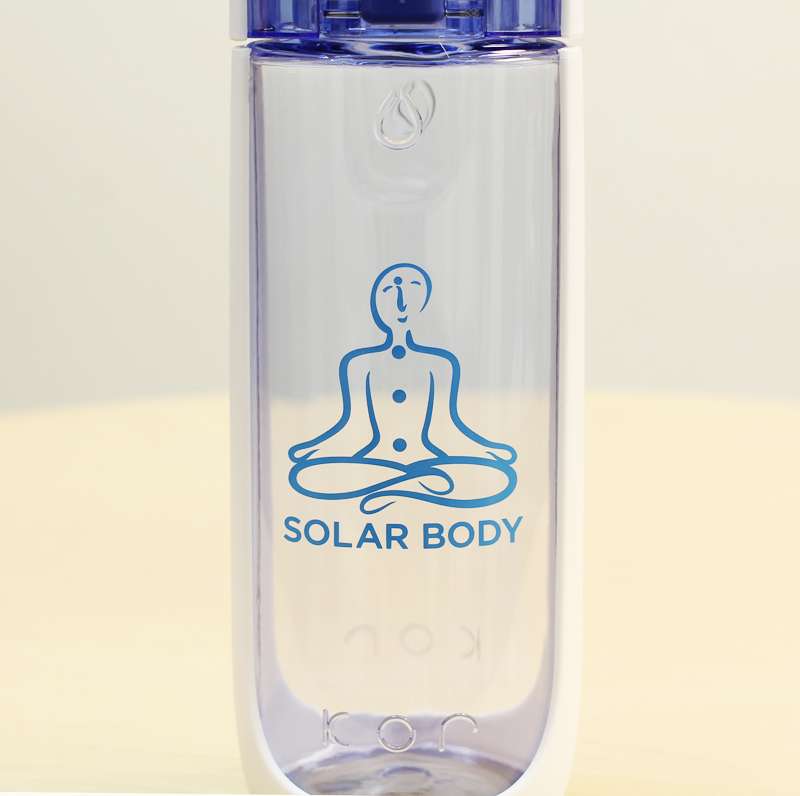 Solar Body Eco Water Bottle Flip Top