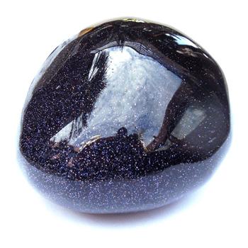 6th Chakra Stone (Blue Goldstone)