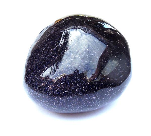 6th Chakra Stone Blue Goldstone