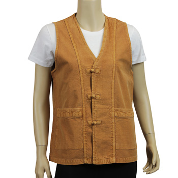All Season Favorite Vest (Unisex) - Sandstone