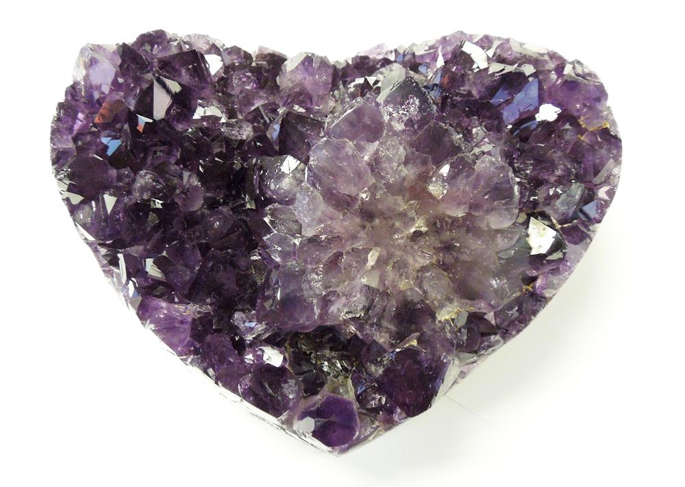 HeartShaped Amethyst Geode Cluster 18 lbs