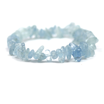 Aquamarine Bracelet (Small Nugget)
