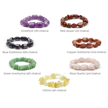 Chakra Bracelet (Nugget Bead)