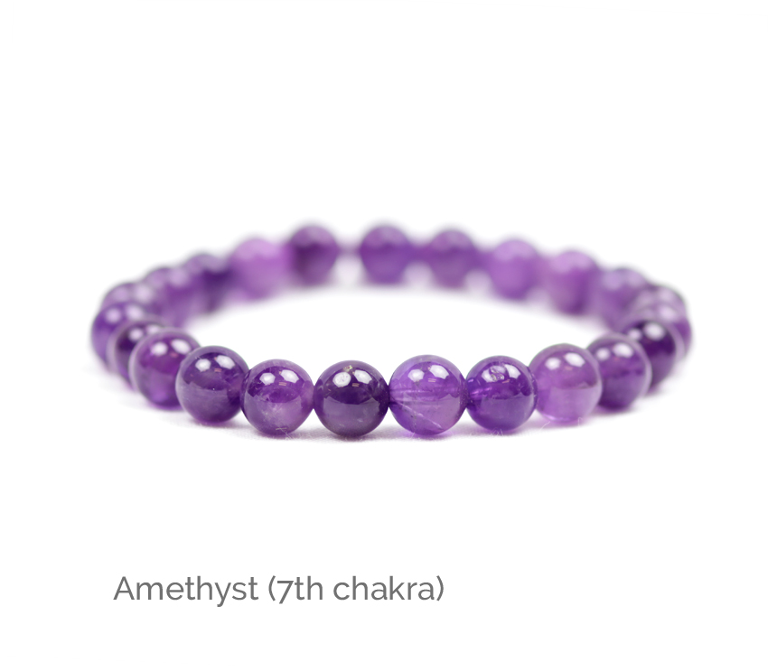 Chakra Bracelet Round Bead