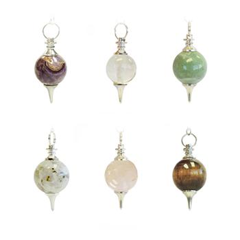 High Vibes Crystal Pendulum