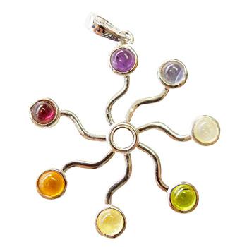 Circle of Life Chakra Pendant