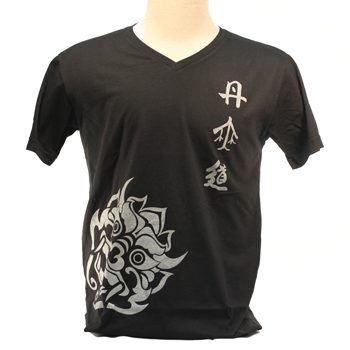 DahnMuDo T-Shirt (V-Neck) Black