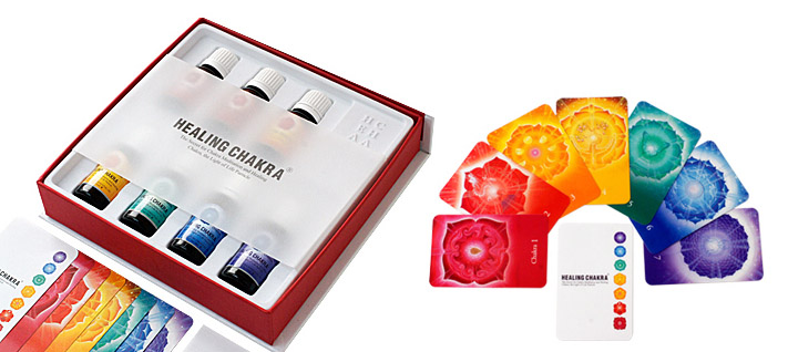 Healing Chakra Essential Oil Set