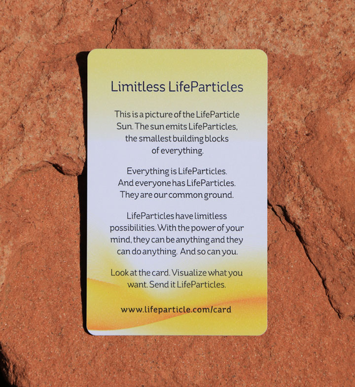 LifeParticle Energy Meditation Card 10 Pack