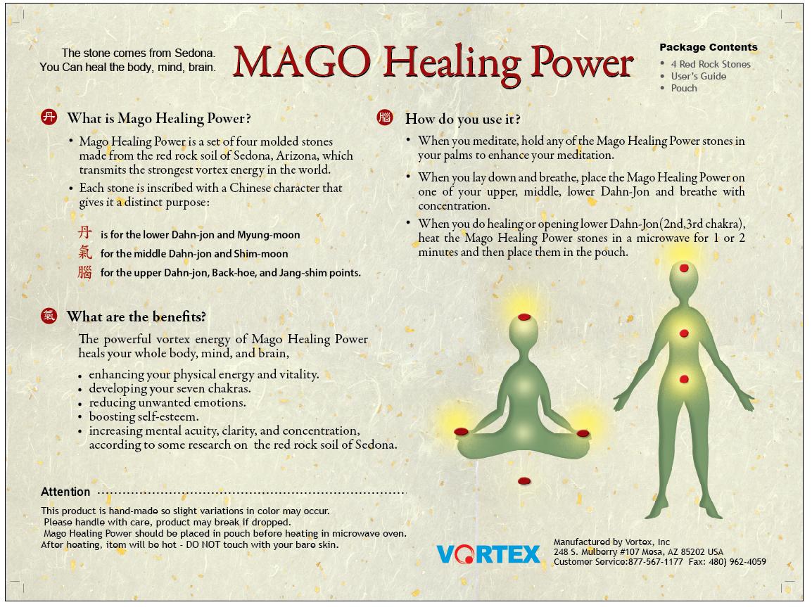 Mago Healing Power Stones