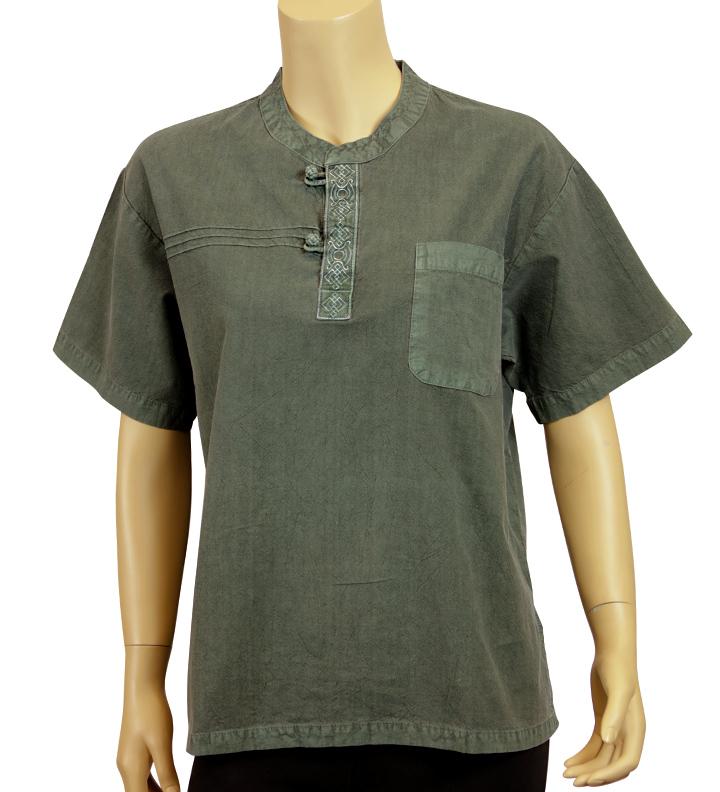 Summer Breeze Shirt Forest Green Unisex