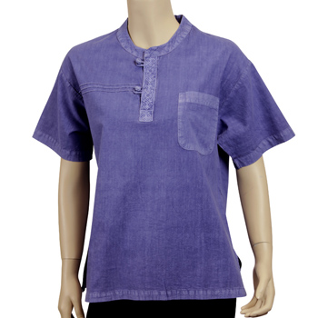 Summer Breeze Shirt - Indigo Blue (Unisex)