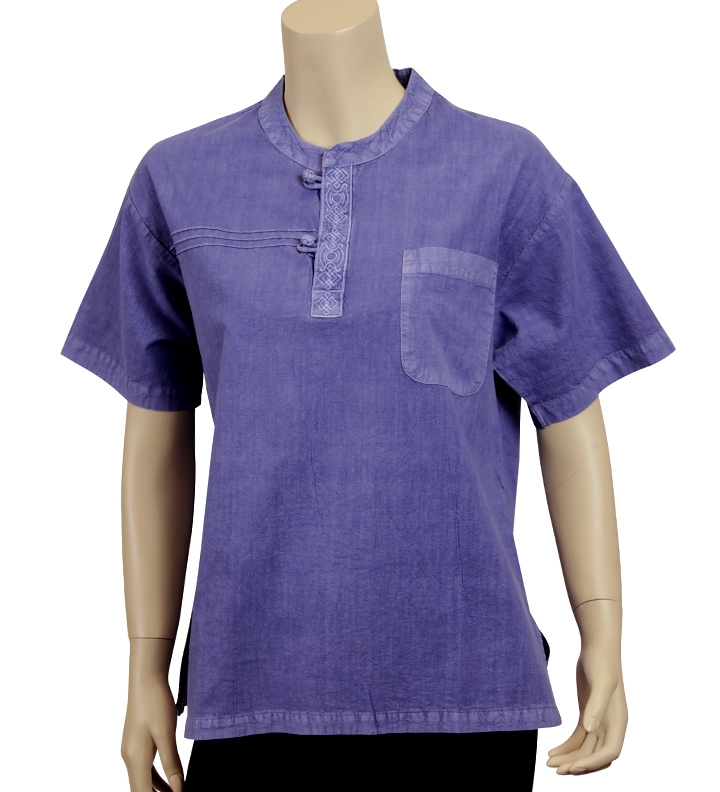 Summer Breeze Shirt Indigo Blue Unisex