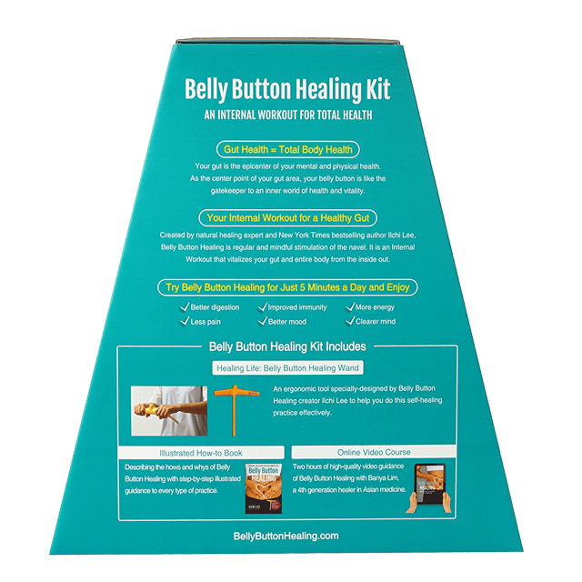 Belly Button Healing Kit Book Wand Course
