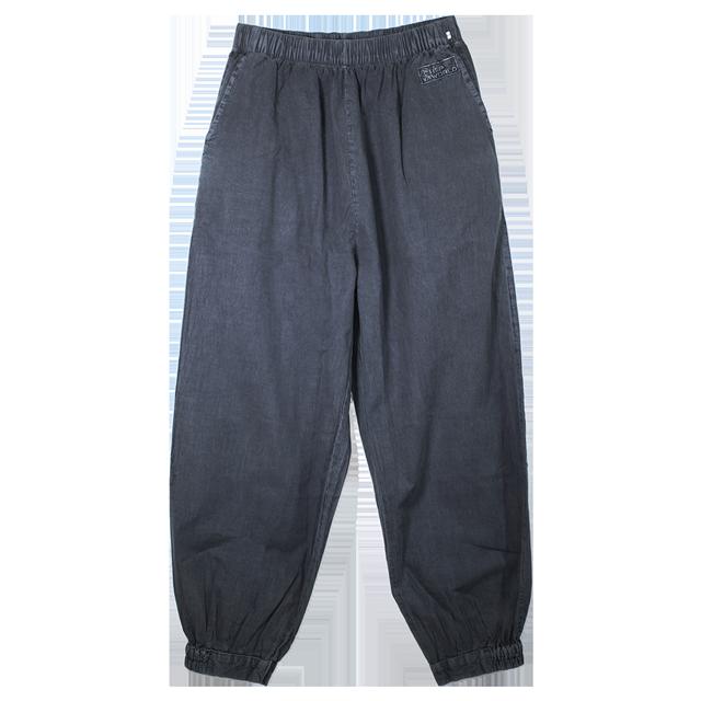 Traditional Korean Yoga Tai Chi Pants Charcoal Gray Unisex