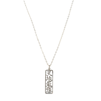 "Universal Life Energy Sterling Silver Necklace (26"" chain)"