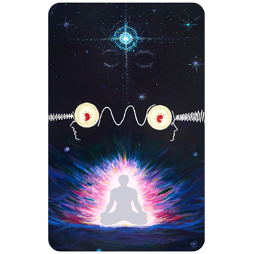 Pineal Gland Meditation Card (Third Eye Enhancer)