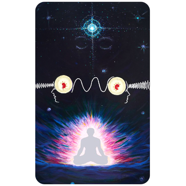 Pineal Gland Meditation Card Third Eye Enhancer