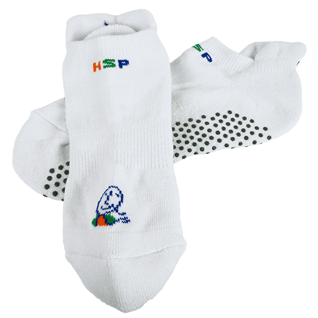 Hantoryum Qi Socks White
