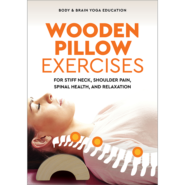 Wooden Pillow Exercises for Stiff Neck Shoulder Pain Spinal Health and Relaxation