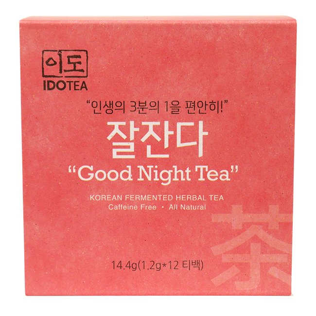 Good Night Tea for Sleep Korean Fermented Herbal Tea