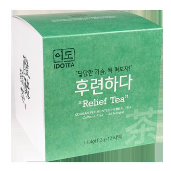 """Relief Tea"" for Calmness - Korean Fermented Herbal Tea"