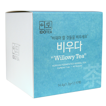 """Willowy Tea"" for Digestion - Korean Fermented Herbal Tea"