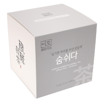 """Peaceful Breath"" Premium Korean Fermented Herbal Tea"