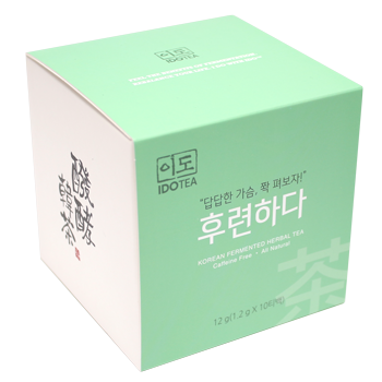 """Refreshing Calm"" Premium Korean Fermented Herbal Tea"