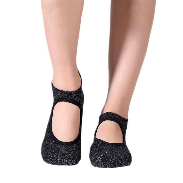 Backless Yoga Socks