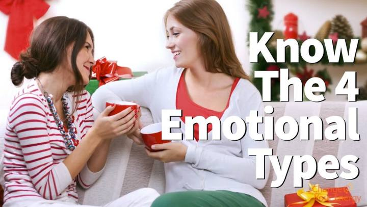Tips and Tools - Know the 4 Emotional Types for Happi...