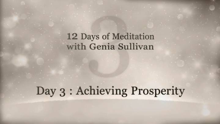 Tips and Tools - 12 Days of Meditation-Day 3: Achievi...