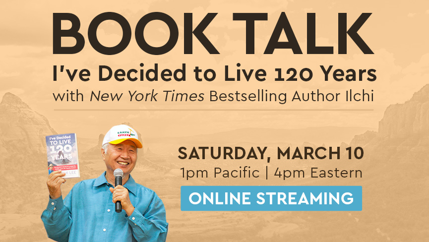 Ilchi Lee Book Talk: Online Streaming Event