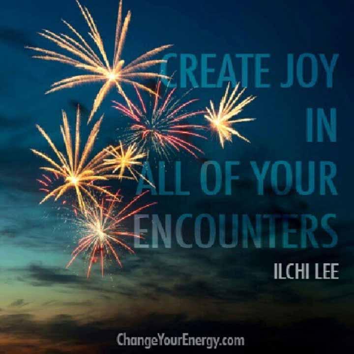 Create joy