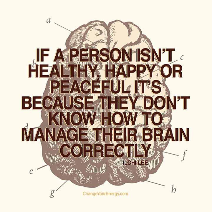 Manage your brain
